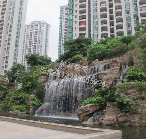 上海景区假山设计