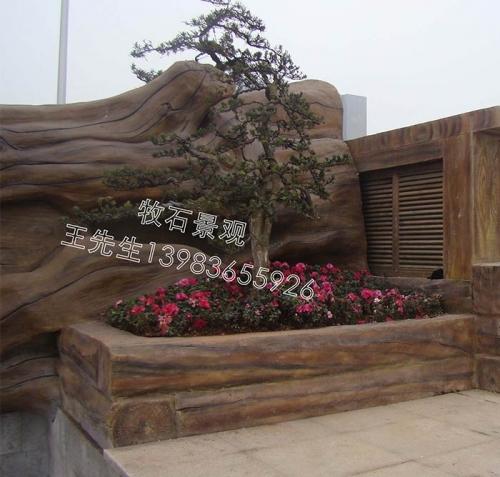 广东仿木树设计