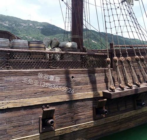广东仿木海盗船