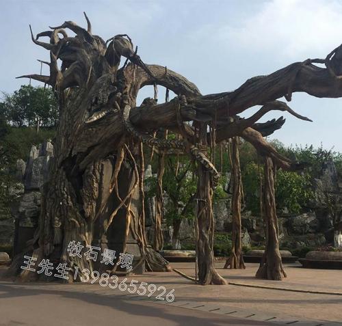 上海仿真枯树