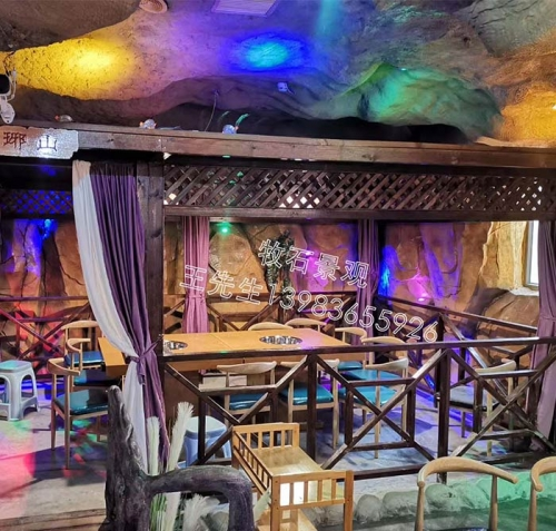 上海生态园餐厅施工