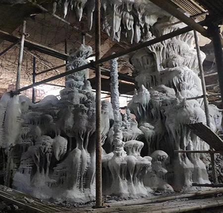人造钟乳石施工